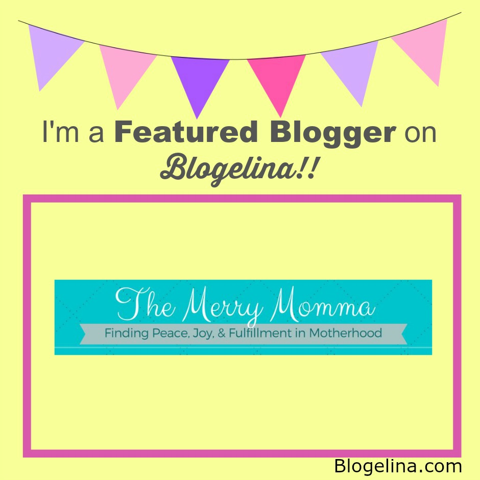 Featured Blogger on Blogelina