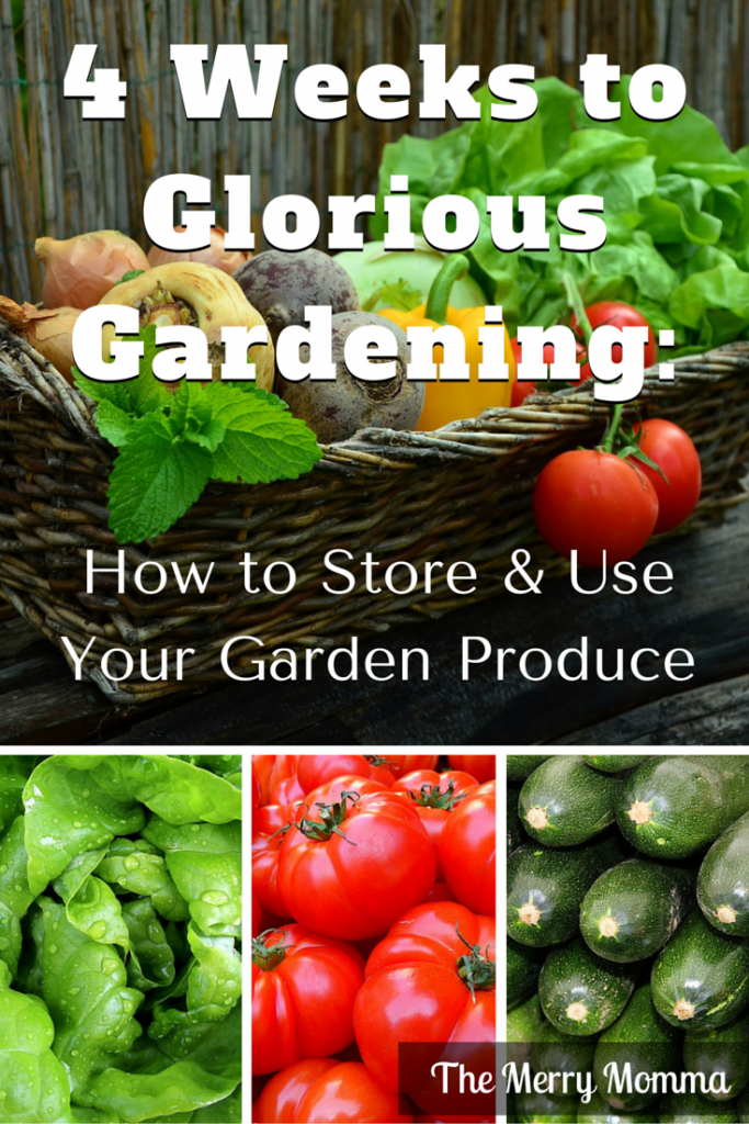 How to Store & Use Your Garden Produce