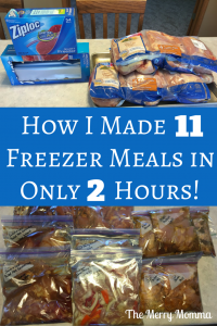 How I Made 11 Freezer Meals in 2 Hours (2)