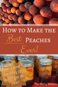 How to Make Spiced Peaches
