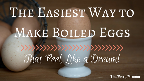 The Easiest Way to Make Boiled Eggs