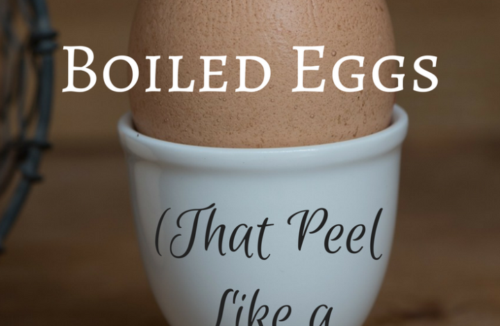The Easiest Way to Make Boiled Eggs (That Peel Like a Dream!)