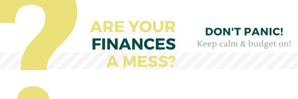 Are your Finances a mess?