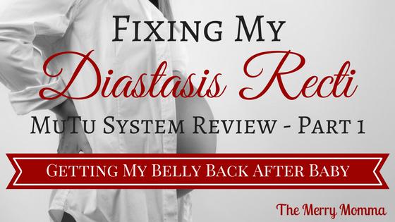 Fixing My Diastasis Recti – MuTu System Review Part 1