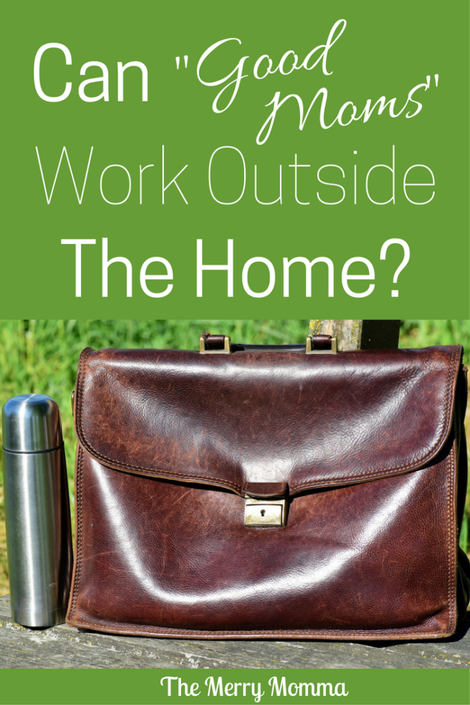 Do mothers who work outside the