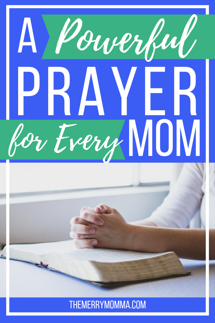 I turned one of my favorite Scripture prayers, Ephesians 1:15-19, into powerful prayers every mom can pray over herself -- and others!