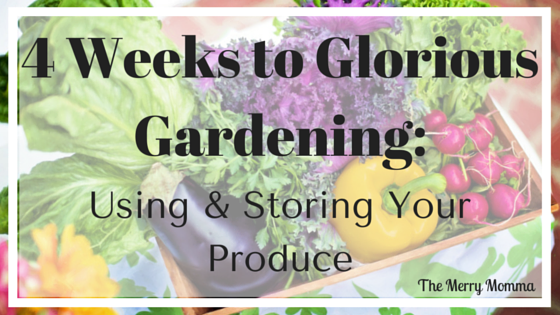 Using & Storing Produce