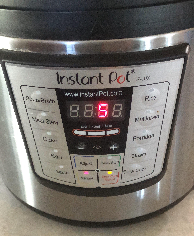 Instant Pot 5 minutes