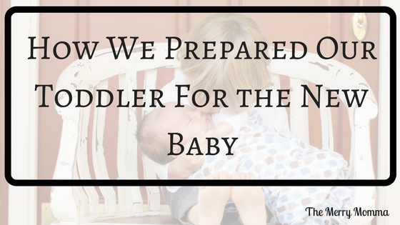 Preparing toddler for new baby