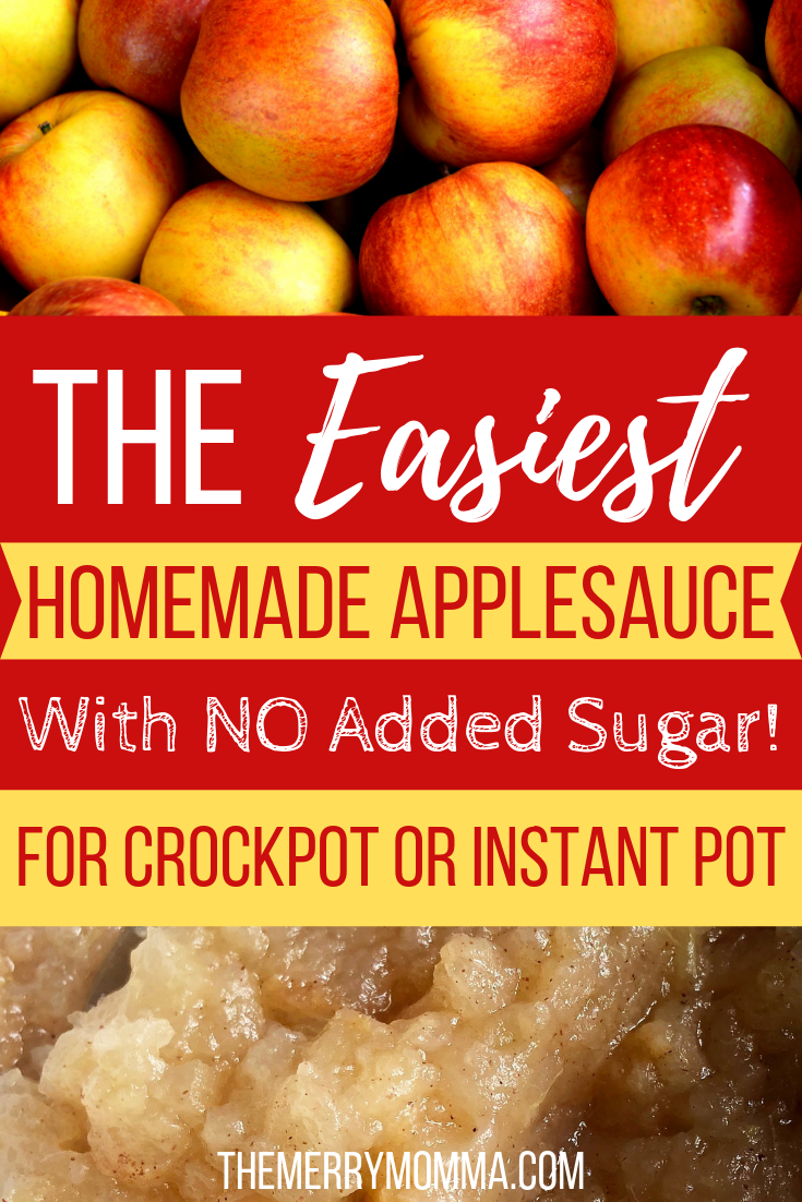 Do you love homemade applesauce but hate the time it takes to prepare? Read how to make delicious applesauce the quick and easy way, with no added sugar!
