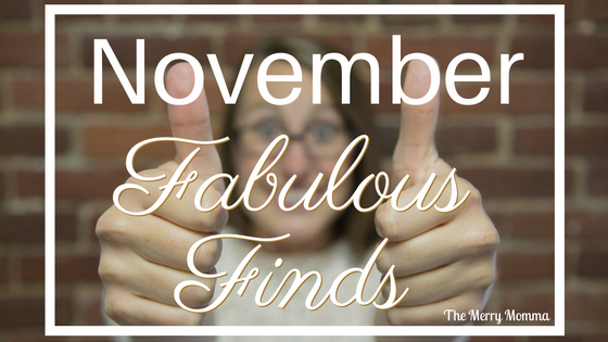 November's Fabulous Finds
