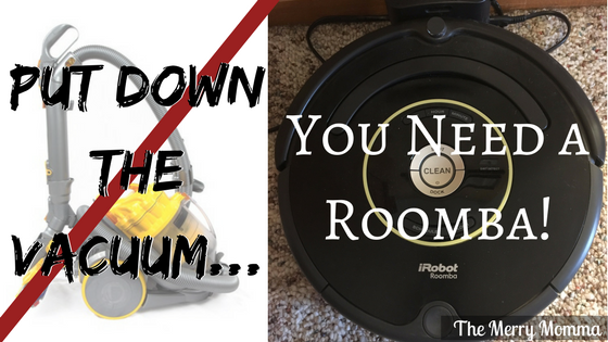 Put Down The Vacuum... You Need a Roomba!