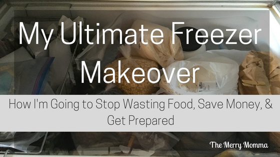 My Ultimate Freezer Makeover