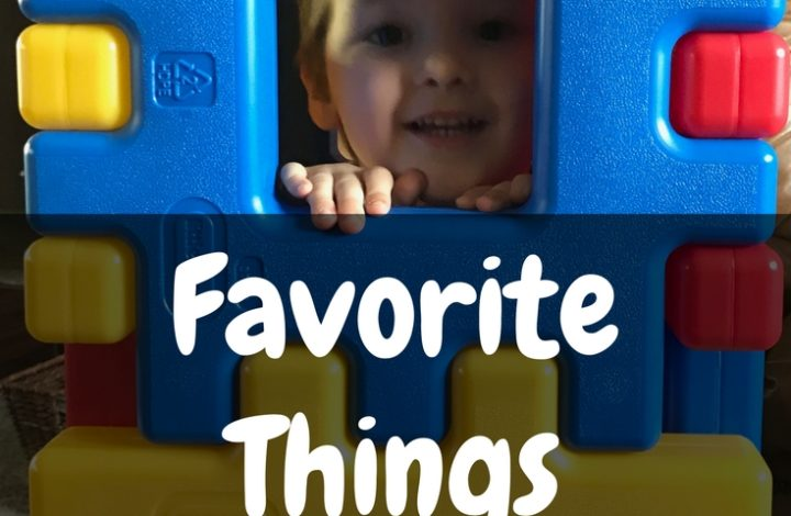 Aidan's Favorite Things {3-Year-Old Edition}