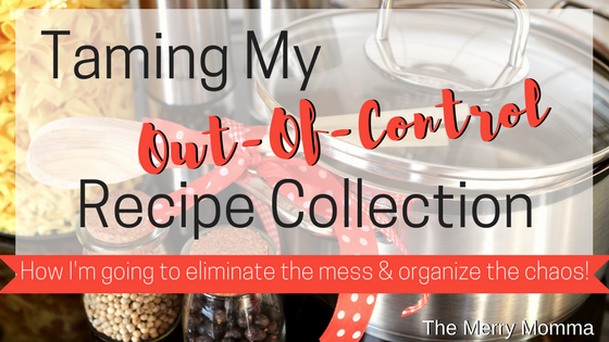 Taming My Out-Of-Control Recipe Collection