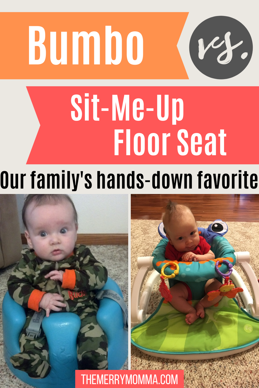 Bumbo vs. Floor Seat product review