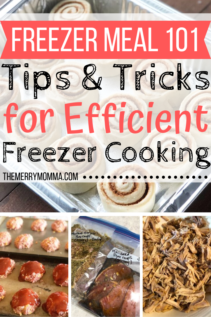 Want to learn how to make freezer meals the fast and easy way? Here are my best freezer meal tips & tricks for efficient freezer cooking.
