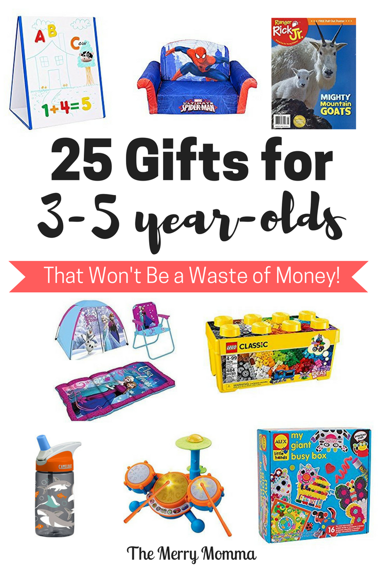 25 Gifts for Preschoolers That Won't Be a Waste of Money