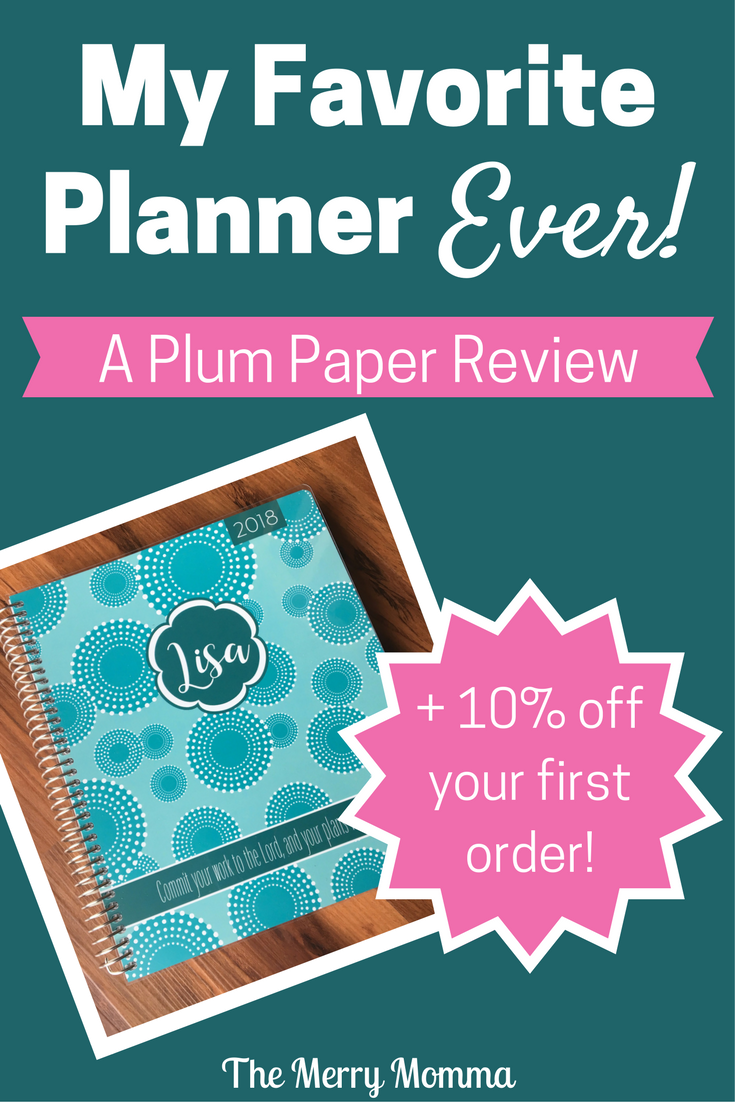 My Favorite Planner Ever: Plum Paper Review