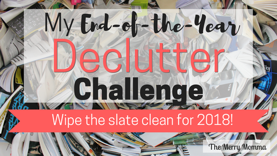 My End-of-the-Year Declutter Challenge