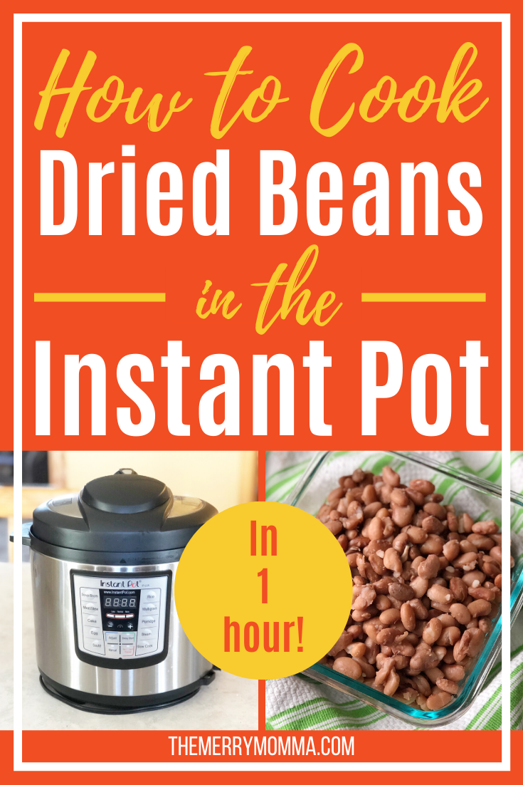 How to Cook Dried Beans in the Instant Pot