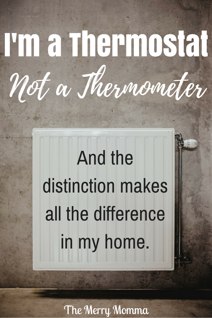 I'm a Thermostat, Not a Thermometer
