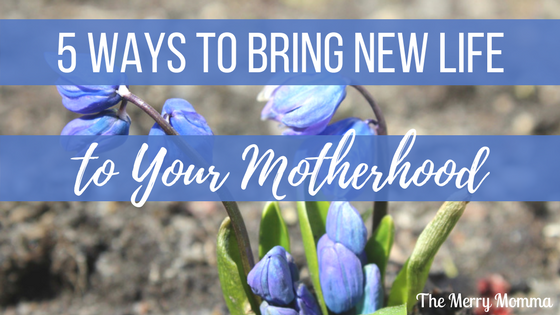 5 Ways to Bring New Life to Your Motherhood