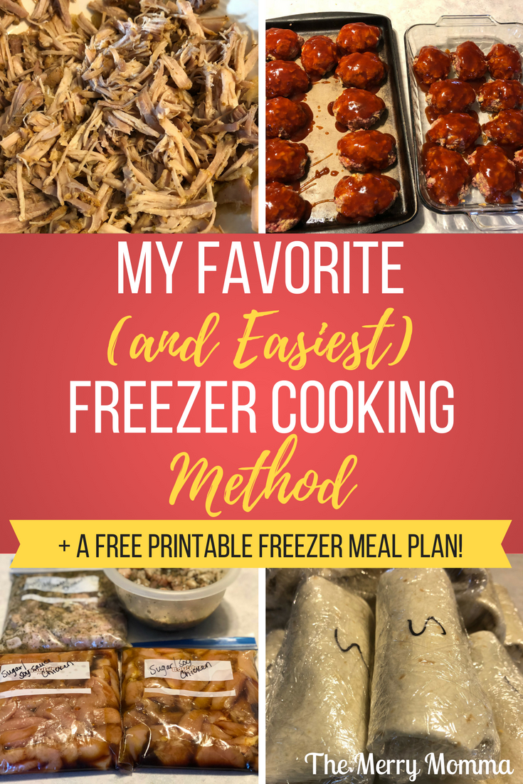 My Favorite (And Easiest) Freezer Cooking Method