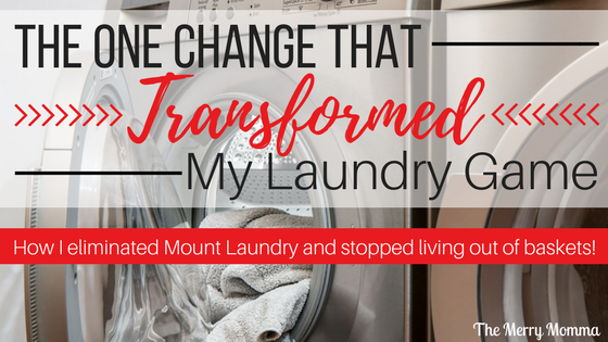 The One Change That Changed My Laundry Game