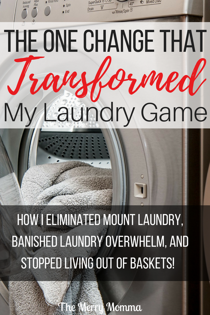 The One Change That Transformed My Laundry Game