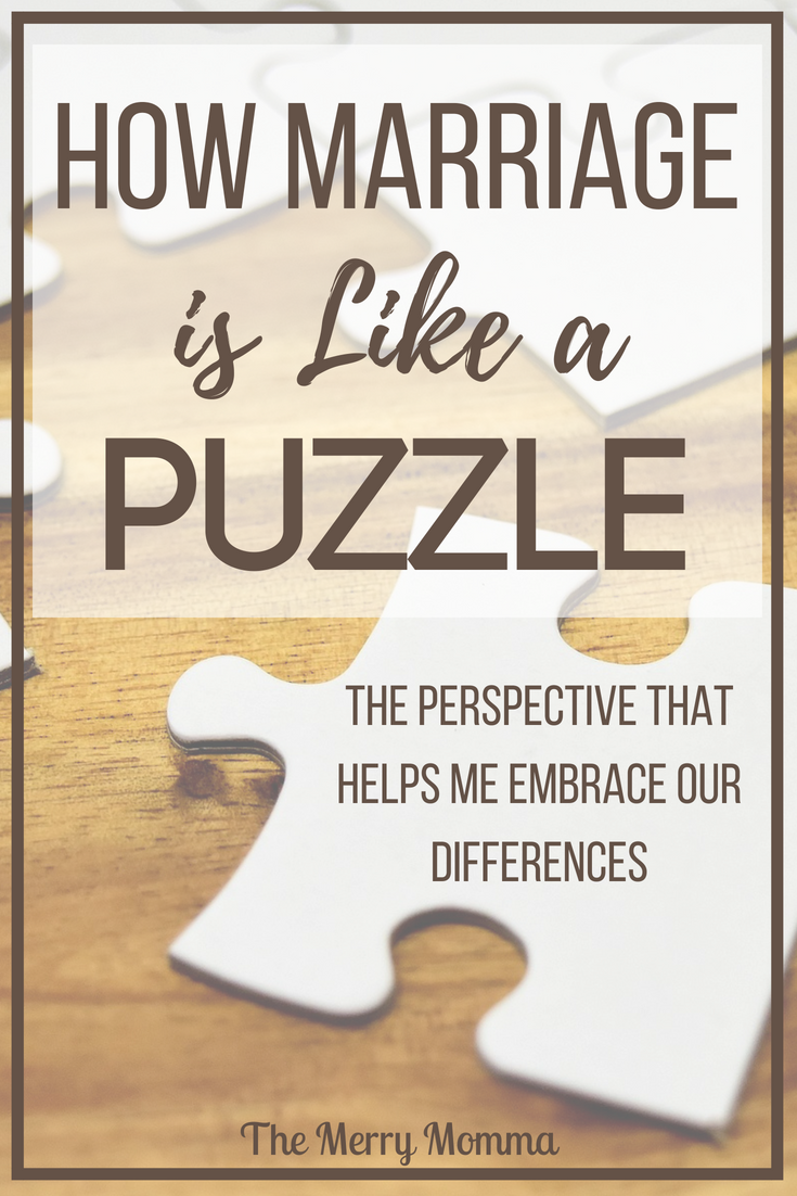 How Marriage Is Like a Puzzle