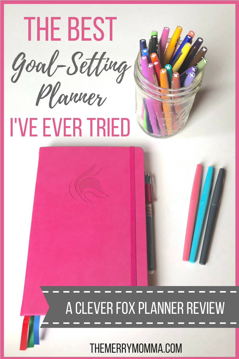 If you're looking for a simple, budget-friendly planner that will help you establish good habits and achieve big goals, then the Clever Fox Planner is for you!