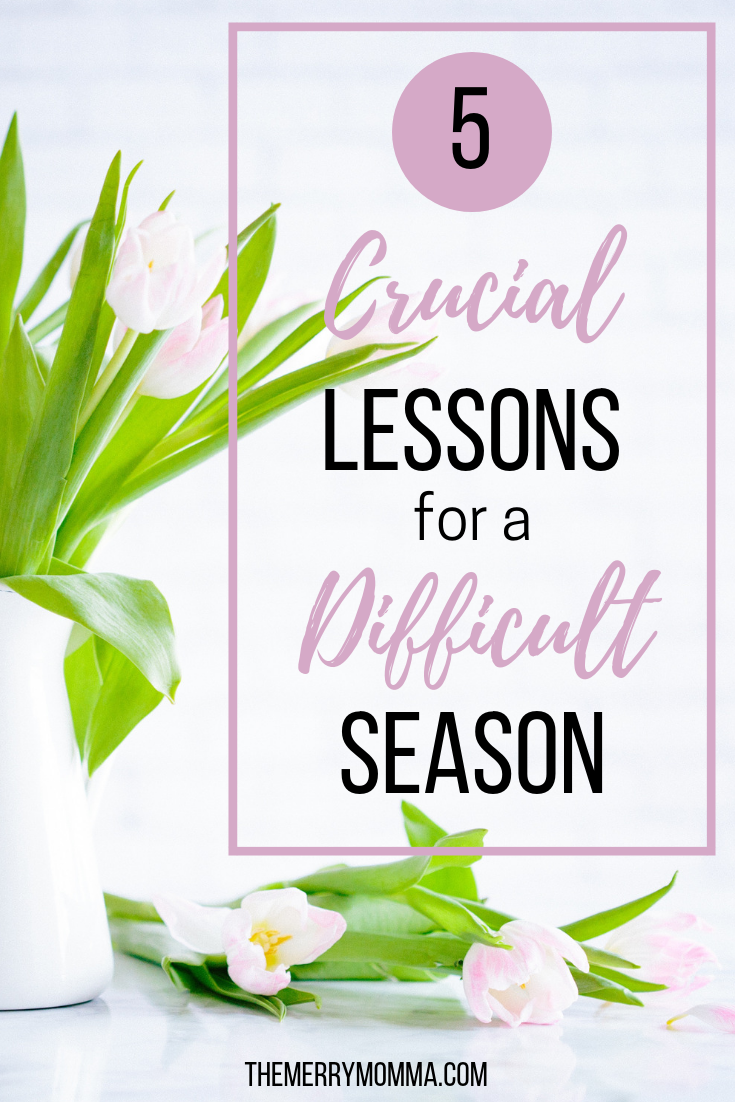 Everyone goes through difficult seasons. These are 5 crucial steps that every woman needs to take when going through a trying season in her life.