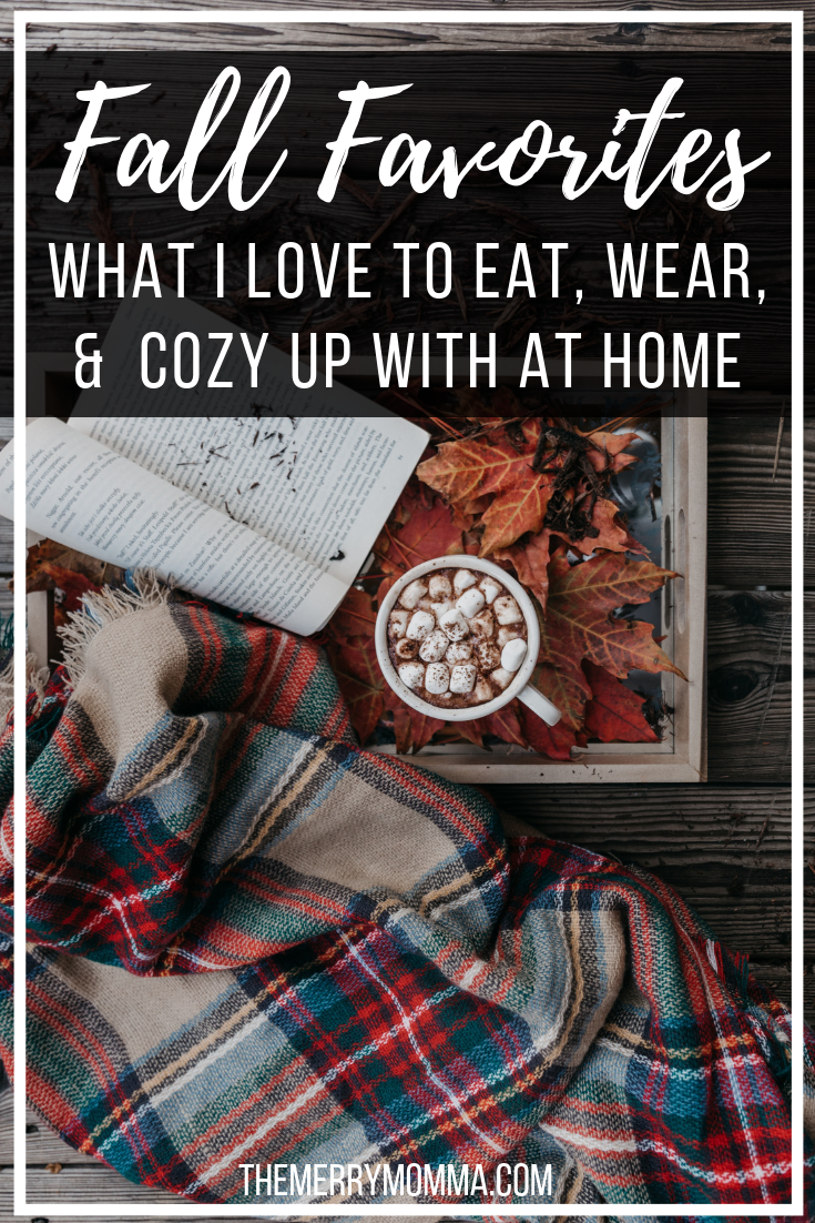From what I love to eat, to what I love to wear, to what I love to fill my home with to make it cozy, here are all my favorite things for fall!