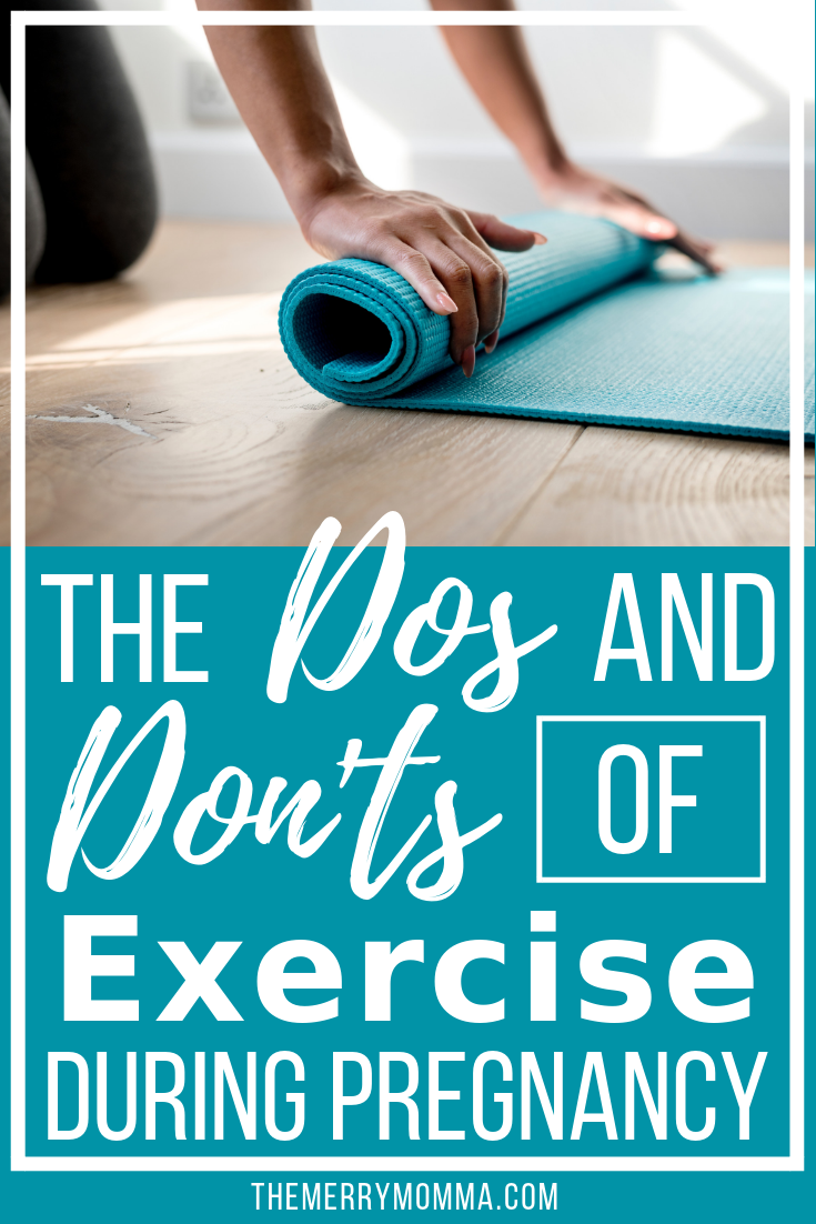Exercising while pregnant is great for both you and the baby, but there are things you should know. Here are the dos and don'ts of exercise during pregnancy