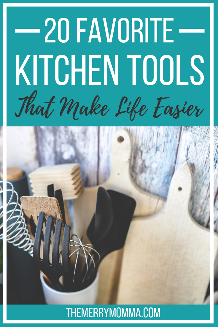 If you could use a little more time and a lot less hassle in the kitchen, give this list of my favorite kitchen tools a look. These tools make my work in the kitchen easier, faster, or just plain more enjoyable, and I wouldn't want to be without them!