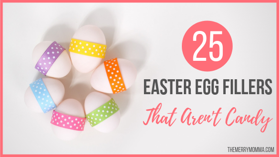 25 Easter Egg Fillers That Aren't Candy