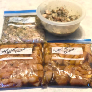 Freezer Meals That Aren't Casseroles -- Marinated Meat Packs