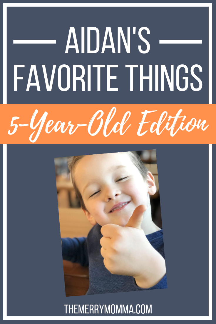 These are my 5-year-old son's favorite foods, books, toys, shows, movies, and activities. Check it out and get some ideas for the kids in your life!