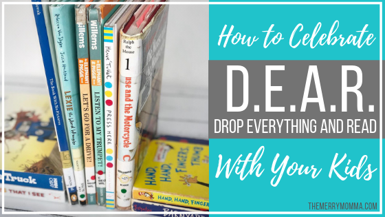 How to Celebrate Drop Everything And Read With Your Kids
