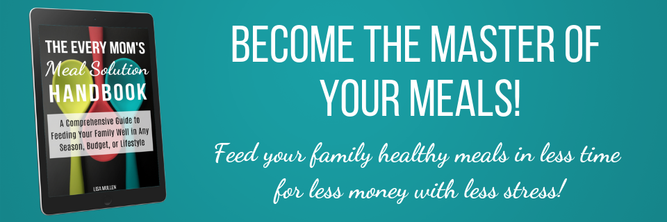 Become the master of your meals -- feed your family healthy meals in less time for less money with less stress!