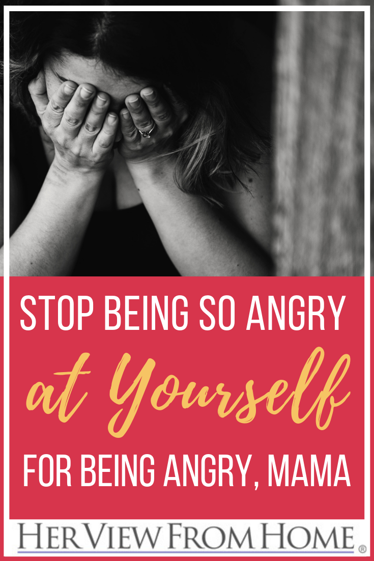 This is for any mom who has ever struggled with mom anger, failure, or giving herself grace!