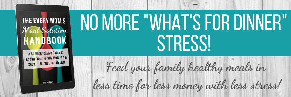 "Eliminate ""What's For Dinner"" stress!"