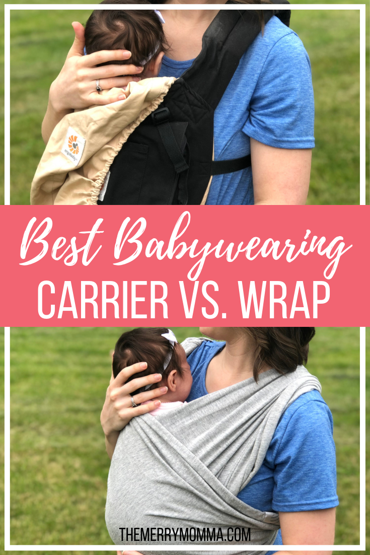 Babywearing is a lifesaver for a busy mom. But which is better, baby carriers or baby wraps? Which one should you get? Here's my answer!