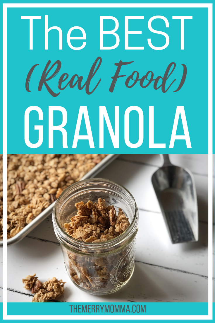 If you love granola and want to save some $ by making it yourself at home, I have the perfect recipe for you that's delicious, healthy, and easy to make!