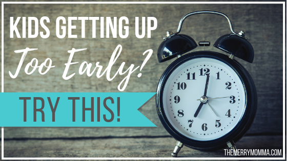 Kids Getting Up Too Early? Try This! {Okay to Wake Clock Review}