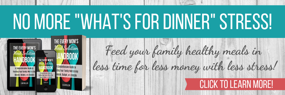 "No more ""what's for dinner?"" stress -- click to learn more!"