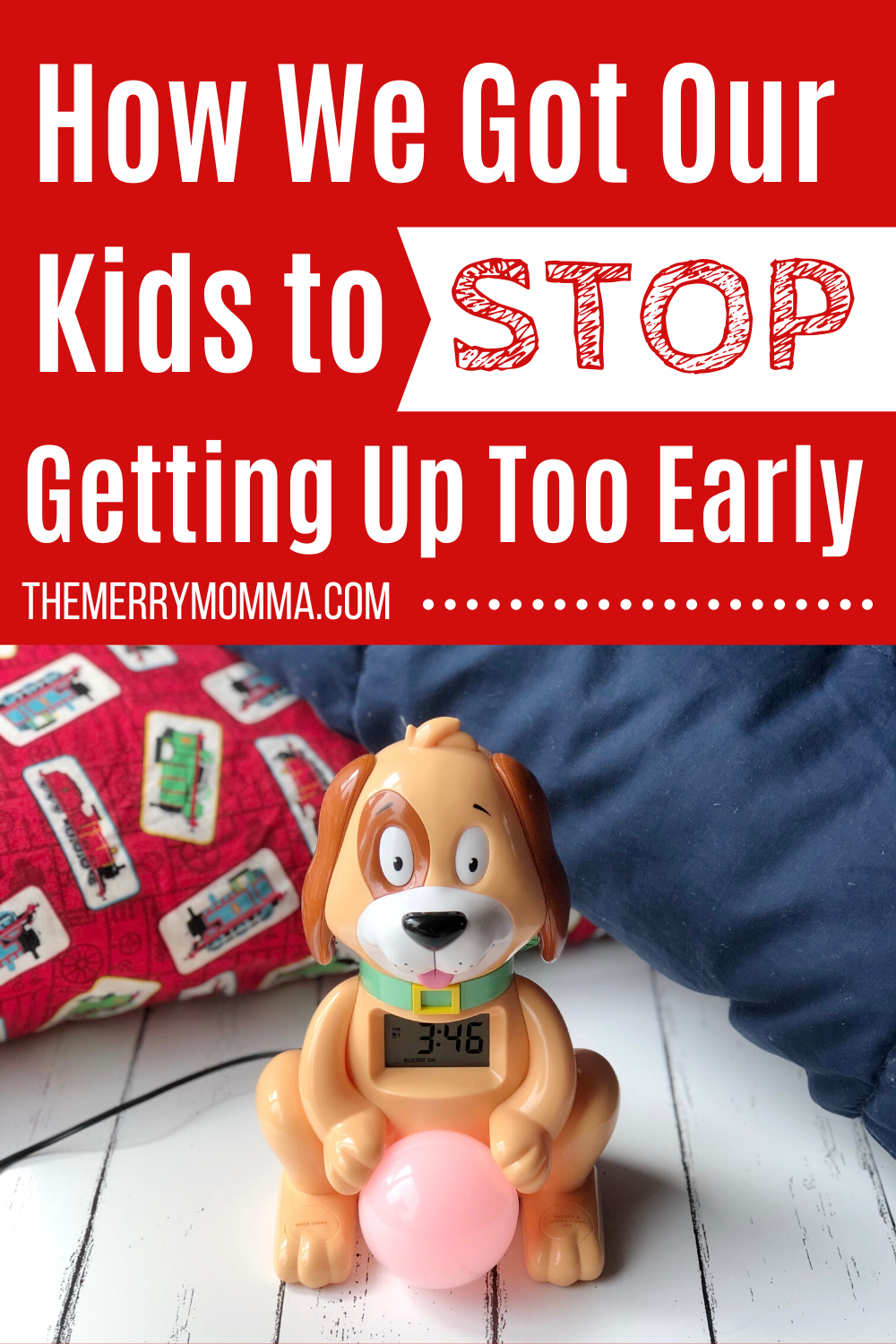 How We Got Our Kids to Stop Getting Up Too Early