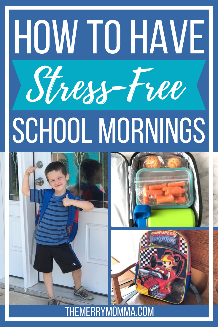 Are your school mornings filled with chaotic scrambles, frazzled nerves, and frantic searches? Get stress-free mornings with these four simple routines!