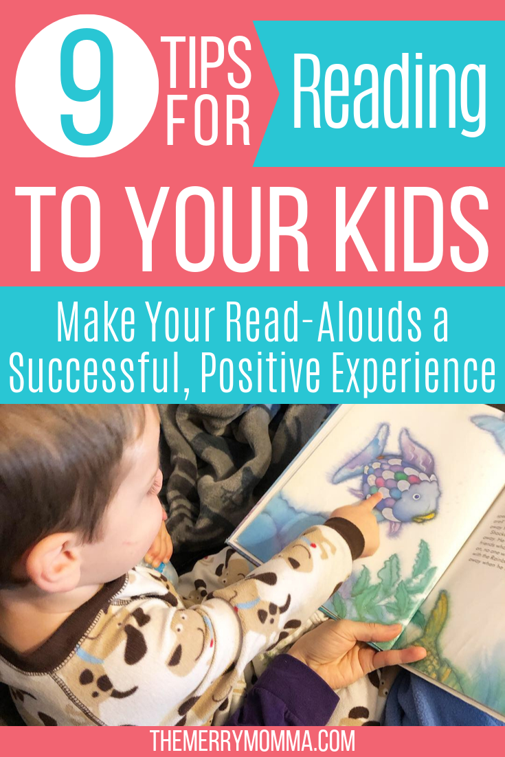 9 Tips for Reading to Your Kids